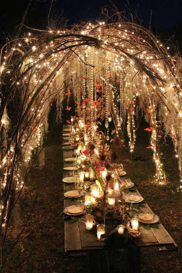 como-decorar-con-luces-de-navidad-para-una-boda-en-un-jardin-encantado